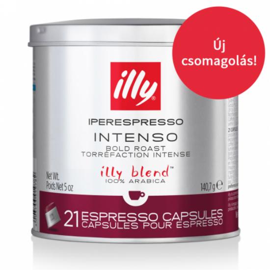 illy kapszula IPER espresso sötét pörkölésű, 21 adag