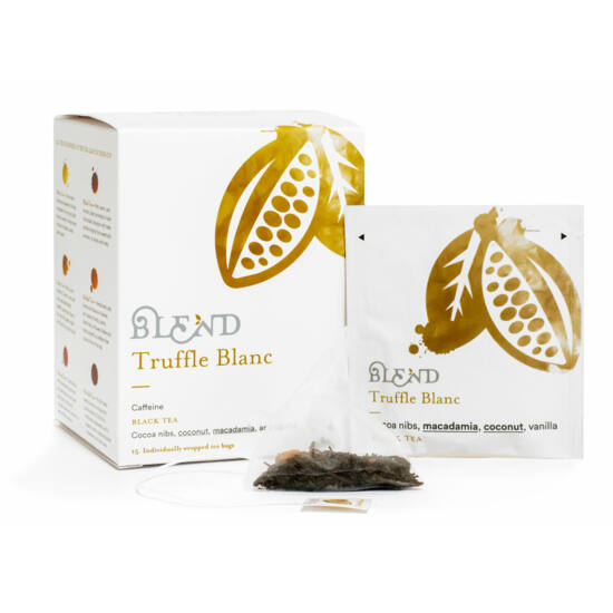 Blend Truffle Blanc tea ,15 db filter