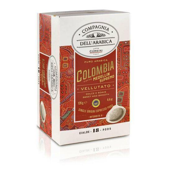 Compagnia Dell' Arabica Caffé Colombia Medellin Supremo kávé pod, 18db