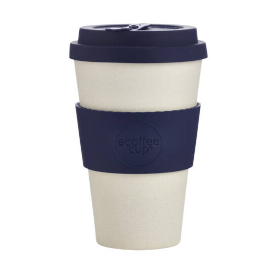 Ecoffee Cup, Blue Nature kávéspohár, 400ml