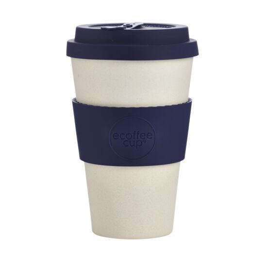 Ecoffee Cup, Blue Nature kávéspohár, 400ml