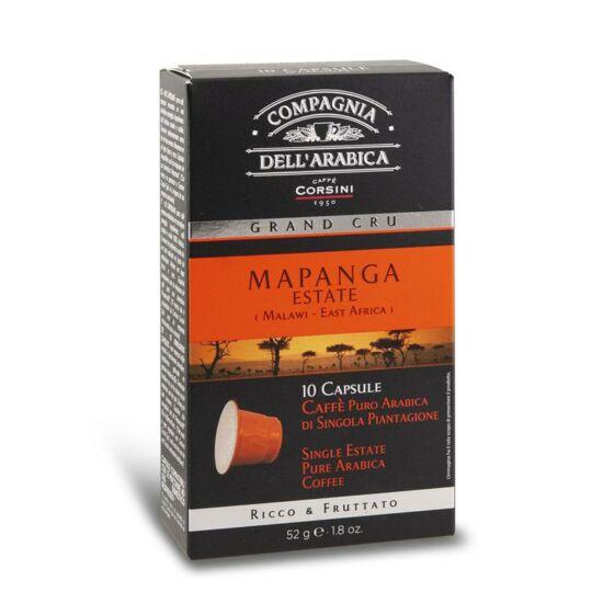 Compagnia Dell' Arabica Grand Cru Mapanga Nespresso kompatibilis kávékapszula, 10 db