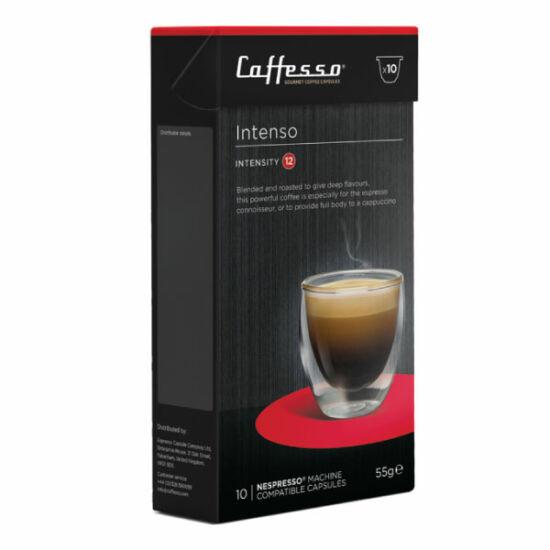 Caffesso Intenso Nespresso kompatibilis kávékapszula, 10 db