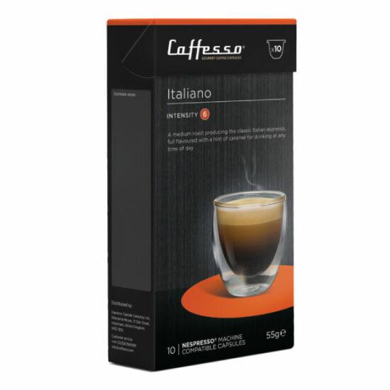 Caffesso Italiano Nespresso kompatibilis kávékapszula, 10 db