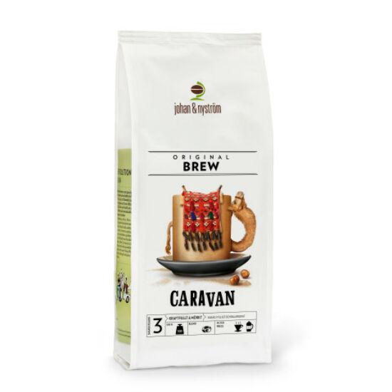 johan & nyström Caravan szemes kávé, 500g