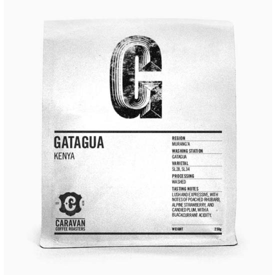 Caravan Coffee Roaster Gatagua Kenya 250g szemes kávé