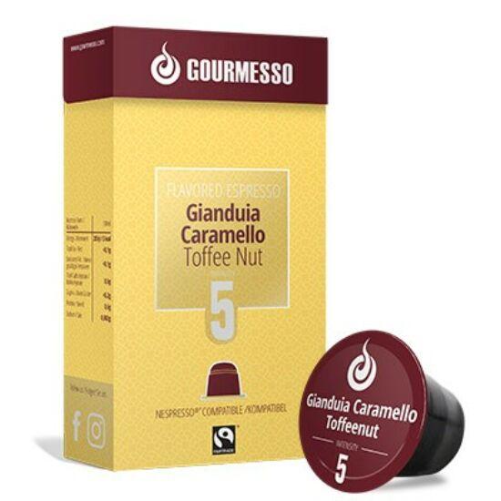 Gourmesso Gianduia Caramello Nespresso kompatibilis kávékapszula, 10 db