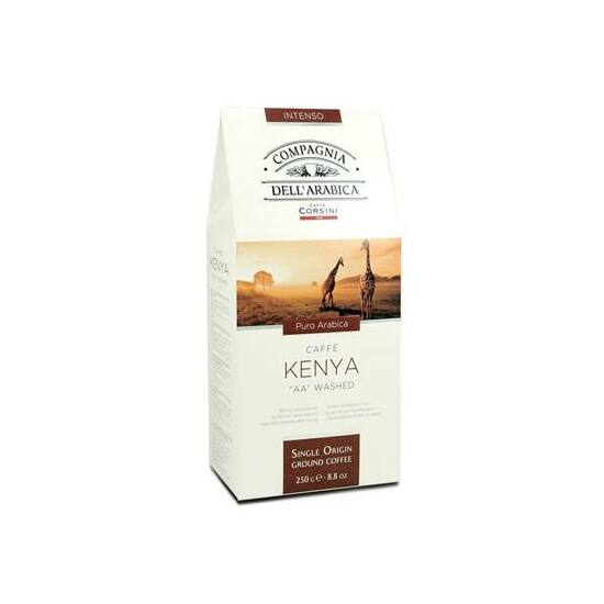 "Compagnia Dell'Arabica Caffé Kenya""AA"" washed őrölt kávé, 250g"