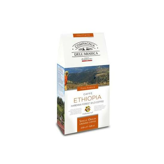 Caffé Ethiopia Harenna Forest Wild Coffee Ground 250gr