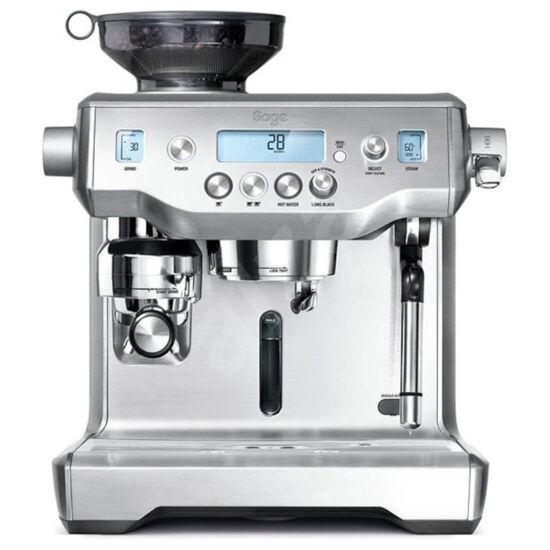 """Sage BES980BSS """"The Oracle"""" eszpresszó kávéfőzőgép darálóval"""