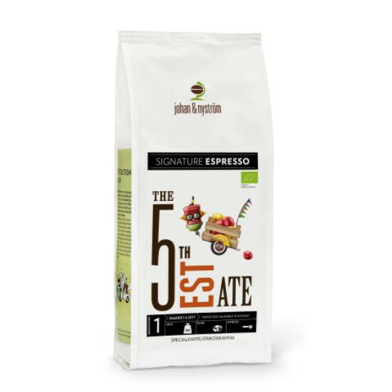 johan & nyström Espresso 5 Estate organic szemes kávé, 500g