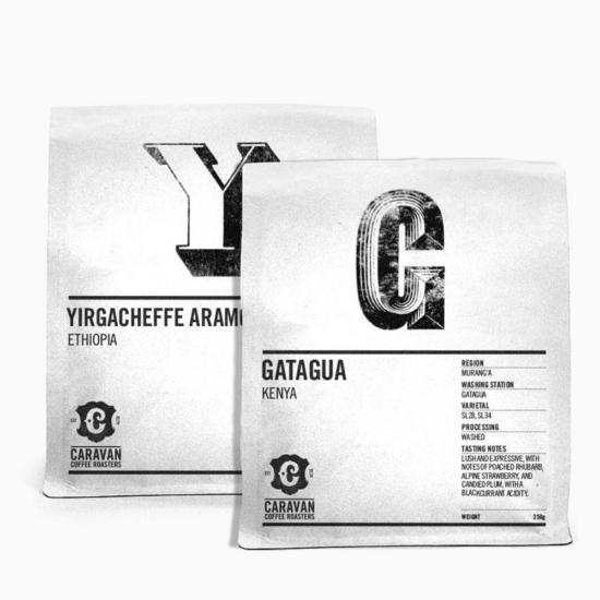 Caravan Filter csomag 2x250g szemes kávé