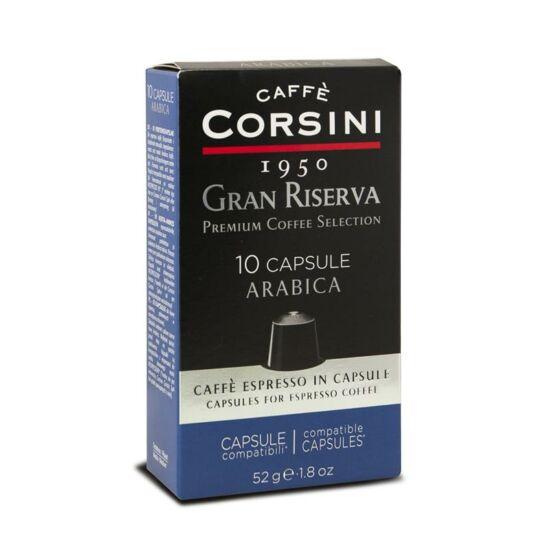 Caffé Corsini Gran Riserva Arabica kávékapszula, Nespresso-kompatibilis, 10 db