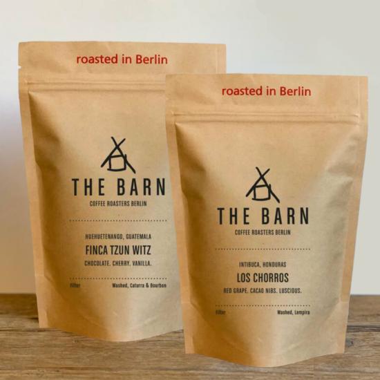 The Barn Filter csomag 2x250g szemes kávé