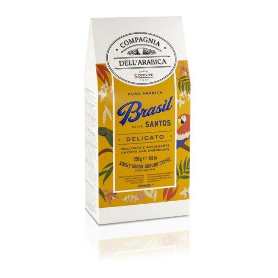 Compagnia Dell'Arabica Caffé Brasil Santos szemes kávé, 250g