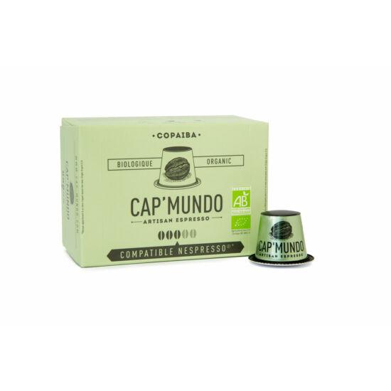 Cap' Mundo Copaiba Nespresso kompatibilis kávékapszula, 10 db