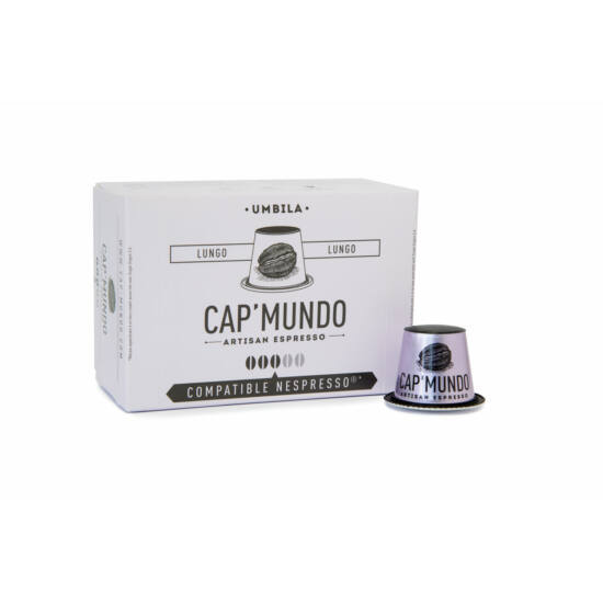 Cap' Mundo Umbila Nespresso kompatibilis kávékapszula, 10 db