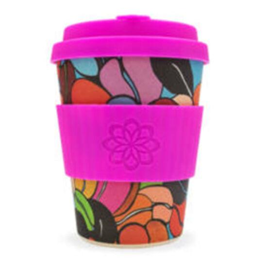Ecoffee Cup hordozható kávéspohár - Couleur Cafe 340ml