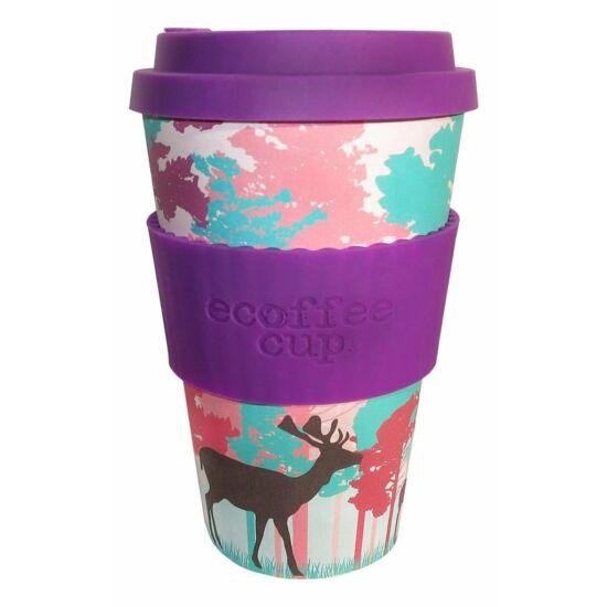 Ecoffee Cup hordozható kávéspohár - Frankly My Deer 400 ml