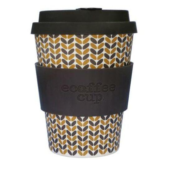 Ecoffee Cup hordozható kávéspohár- Threadneedle  340ml
