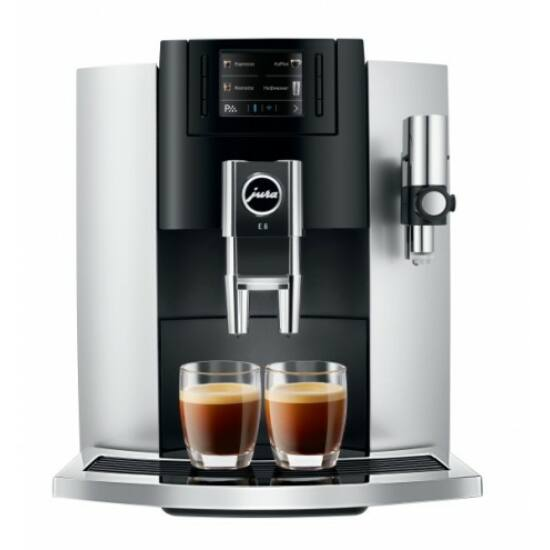 Jura E8 Platin+ smart connect Automata Kávéfőző