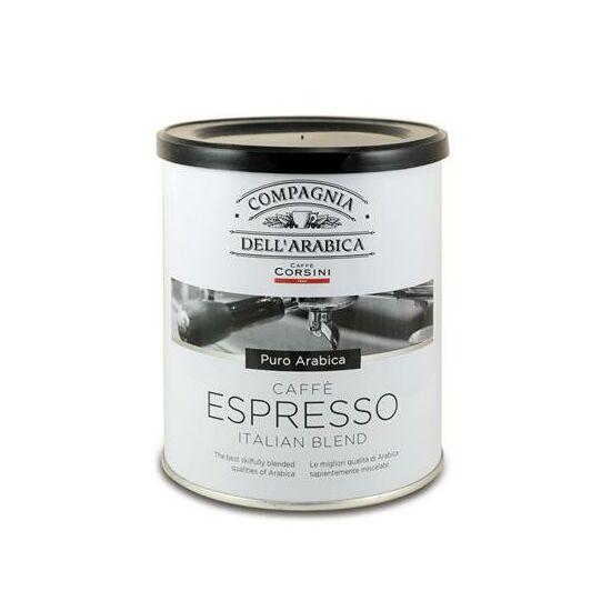 Compagnia Dell'Arabica Caffé Purissimi Arabica őrölt kávé TIN, 250g