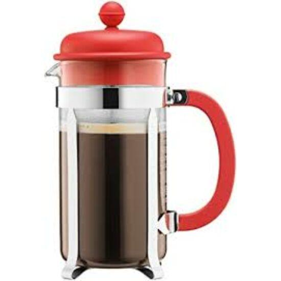 Bodum Caffeteria French Press 0.35l kávékészítő, vörös