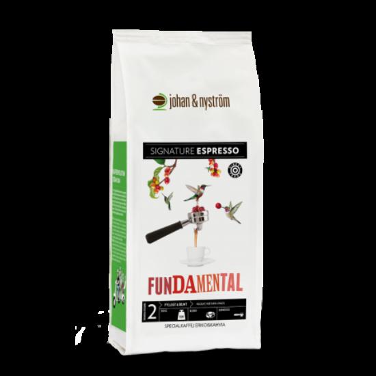 Johan & Nyström Fundamental Espresso szemes kávé 500g