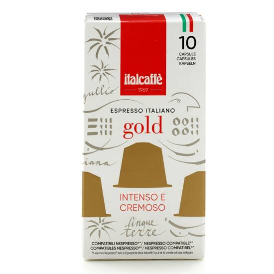 Espresso gold kapszulás kávé 10 db