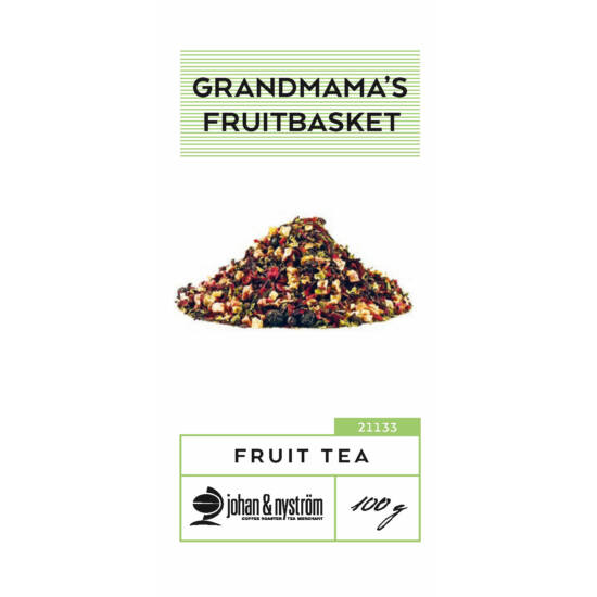 johan & nyström Grandmama's Fruitbasket gyümölcs tea