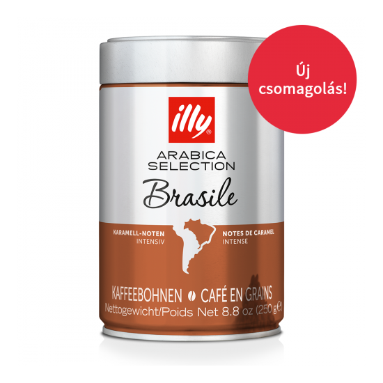 illy MonoArabica Brazília szemes kávé, 250 g