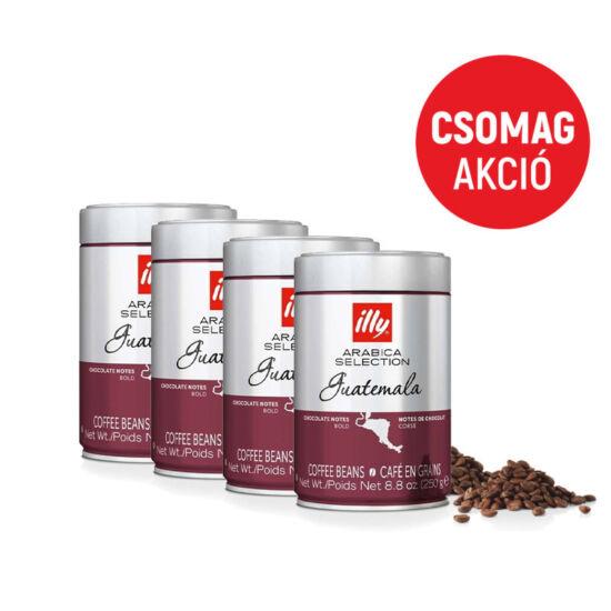 Illy Guatemala csomag 4x250g szemes kávé