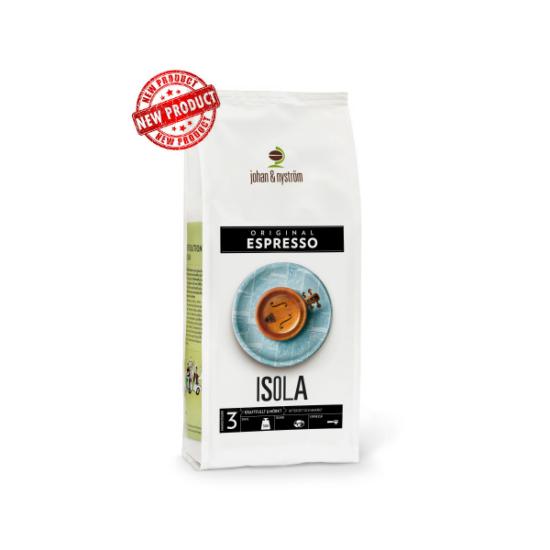 johan & nyström Espresso Isola szemes kávé, 500g