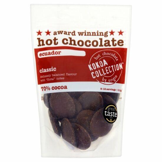 Kokoa Collection Classic Ecuador 70% forró csokoládé 210g