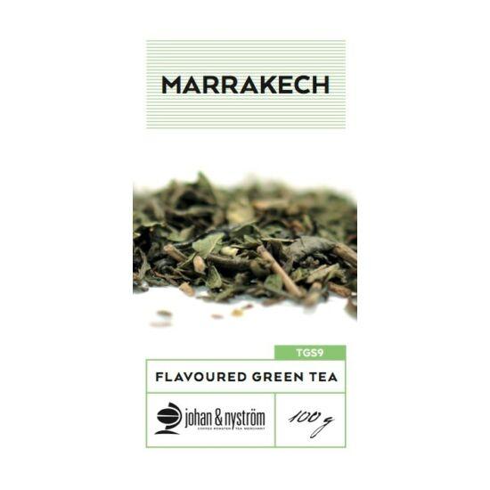 johan & nyström Marakesch ízesített zöld tea