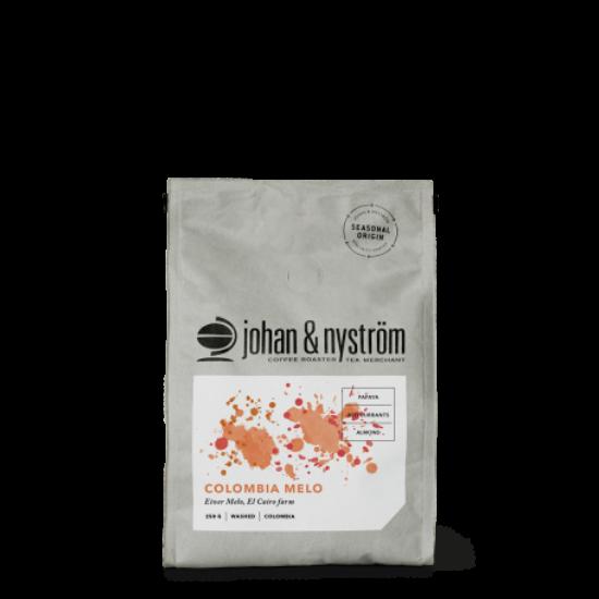 johan & nyström Colombia Melo szemes kávé, 250g