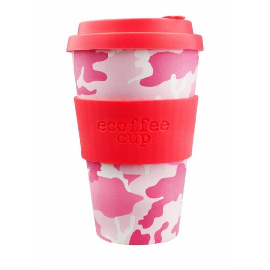 Ecoffee Cup hordozható kávéspohár - Miss Wasilla 400ml