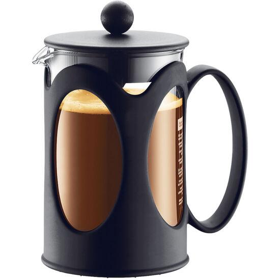 Bodum KENYA Kávékészítő, 8 adagos, 1.0 l, fekete színű