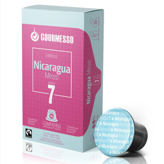 Gourmesso Nicaragua Mezzo Nespresso kompatibilis kávékapszula, 10 db