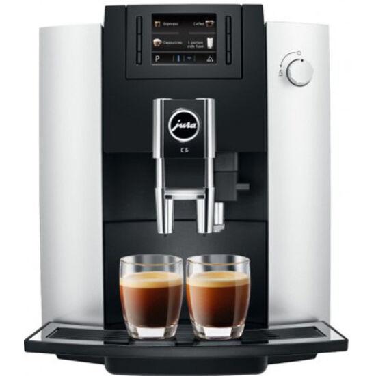 JURA E6 Platin automata kávéfőzőgép