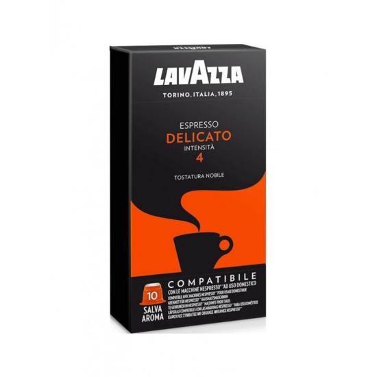 Lavazza Delicato Nespresso kompatibilis kávékapszula, 10 db