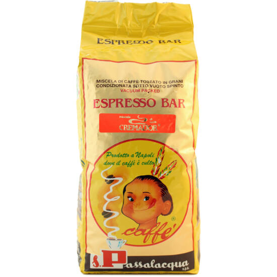 Passalacqua Caffé CREMADOR szemes kávé 1000g