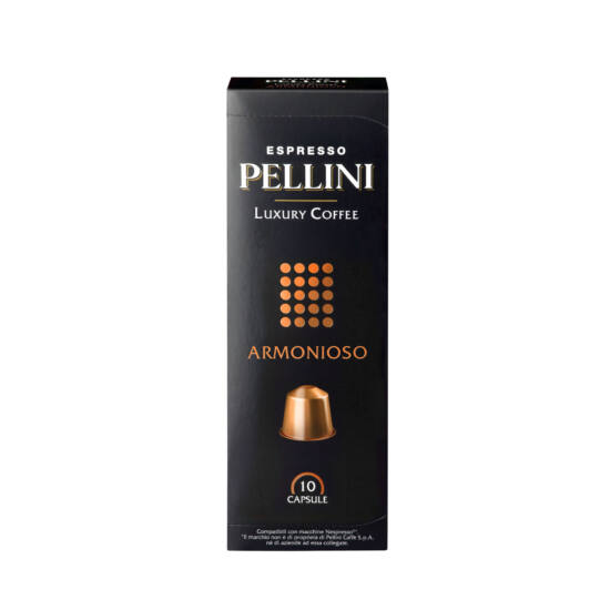 Pellini Luxury ARMONIOSO Nespresso kompatibilis kávékapszula, 10 db