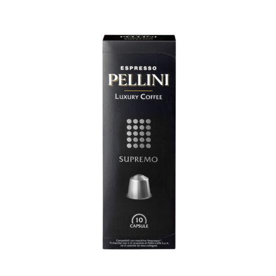 Pellini Luxury SUPREMO 100% arabica Nespresso kompatibilis kávékapszula, 10 db