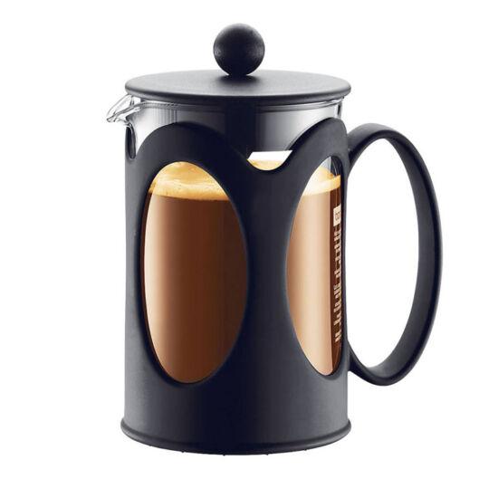 Bodum KENYA Kávékészítő, 0,35l fekete színű