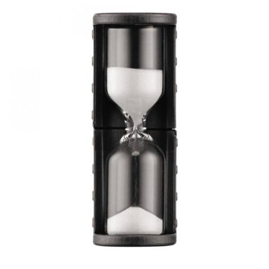 Bodum BISTRO 4 perces homokóra, fekete színű  5 cm-es