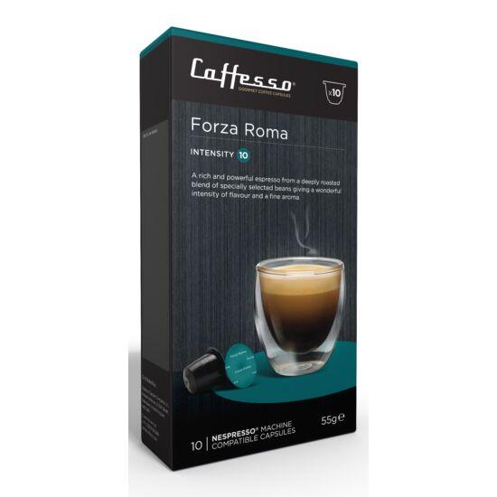 Caffesso Forza Roma Nespresso kompatibilis kávékapszula, 10 db