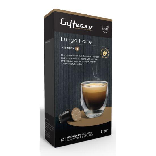 Caffesso Lungo-Forte Nespresso kompatibilis kávékapszula, 10 db
