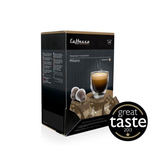 Caffesso Milano Nespresso kompatibilis kávékapszula, 60 db