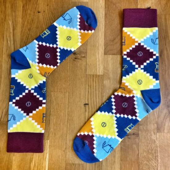 Cophi TRENDY BARISTA barista zokni - női (36-41)